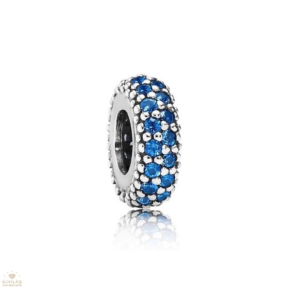Pandora kék pavé inspiráció spacer - 791359NCB